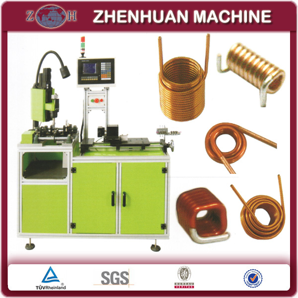 Automatic Air Coil Winding Machine For Round bobbinless Coils