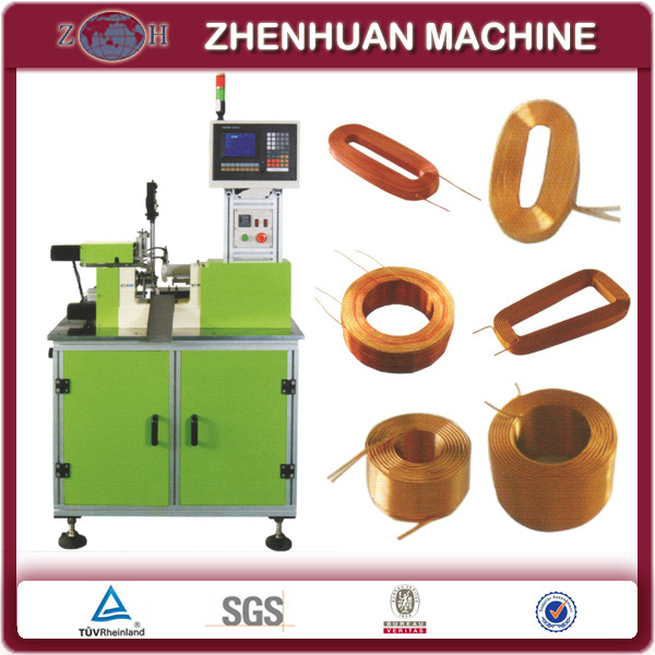 CNC Hot Air Bonding Air Coil Winding Machine for Self Supporting Air Core Coils
