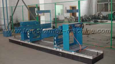 Transformer radiator assembling table